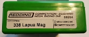 58594 Redding Type-S Competition Neck Die Set 338 Lapua Magnum