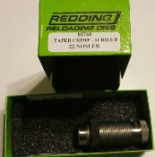 85768 Redding 22 Nosler Taper Crimp Die