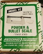 02000 Redding Model No. 2 Powder & Bullet Scale