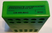 28163 Redding Master Hunter Die Set 338 Winchester Magnum