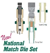 39287 Redding National Match Die Set 204 Ruger