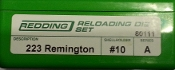 80111 Redding 2-Die Full Length Die Set 223 Remington