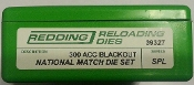 39327 Redding National Match Die Set 300 AAC Blackout