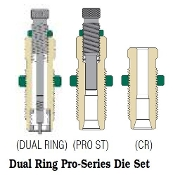 02xxx Redding Dual Ring Pro-Series Carbide Die Set