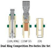 06xxx Redding Dual Ring Competition Pro-Series Carbide Die Set