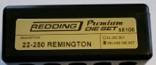68106 Redding 3-Die PREMIUM Deluxe Die Set 22-250 Remington
