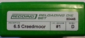 80446 Redding 2-Die Full Length Die Set 6.5 Creedmoor