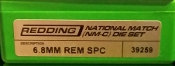 39259 Redding National Match Die Set 6.8mm Remington SPC
