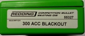 55327 Redding Competition Seating Die 300 AAC Blackout