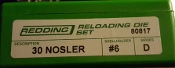 80817 Redding 2-Die Full Length Die Set 30 Nosler