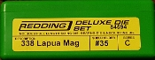 84594 Redding 3-Die Full Length/NeckDie Set 338 Lapua Magnum