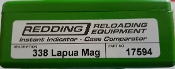 17594 Redding Instant Indicator 338 Lapua Magnum (no indicator)