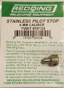 "06124 REDDING Pilot Stop 6mm 243 Caliber, 3/16"" Mandrel"
