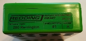 28142 Redding Master Hunter Die Set 280 Remington