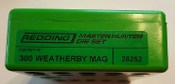 28252 Redding Master Hunter Die Set 300 Weatherby Magnum