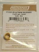 76365 Redding Titanium Nitride Neck Size Bushing