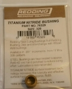 76329 Redding Titanium Nitride Neck Size Bushing