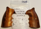 Ahrends S&W K/L Tactical Round Butt Finger Groove Goncalo Alves
