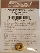 76239 Redding Titanium Nitride Neck Size Bushing