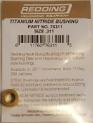 76311 Redding Titanium Nitride Neck Size Bushing