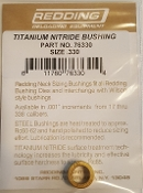 76330 Redding Titanium Nitride Neck Size Bushing