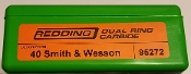 95272 40 Smith & Wesson Redding Dual Ring Carbide Sizer