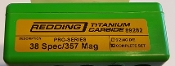 89282 Redding Titanium Carbide PRO SERIES Die Set 38SPL 357 Mag
