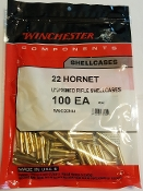 WSC22HU Winchester Brass 22 Hornet Bag of 100