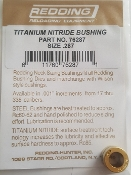 76287 Redding Titanium Nitride Neck Size Bushing