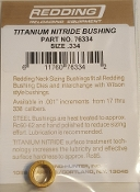 76334 Redding Titanium Nitride Neck Size Bushing