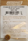 76246 Redding Titanium Nitride Neck Size Bushing