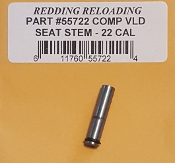 55722 Redding VLD Competition Seating Die Stem 22 Caliber