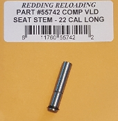 55742 Redding VLD Competition Seating Die Stem 22 Caliber