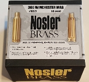 10227 Nosler Custom 300 Win Mag Cartridge Brass Box of 50