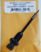 33223 Redding 222 223 22-250 225 Decapping Rod Assembly