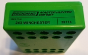 28114 Redding Master Hunter Die Set 243 Winchester