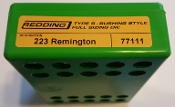 77111 Redding Type-S Full Length Bushing Size Die 223 Remington
