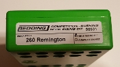 56531 Redding Competition Bushing Neck Die 260 Remington