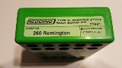 71531 Redding Type-S Neck Bushing Sizing Die 260 Remington