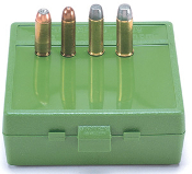 P64-50-10 MTM Ammo Box 64 Round Flip-Top 50 AE 480 Ruger Green