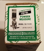 03400 Redding Competition Model 10X Powder Measure