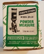 03300 Redding Competition Model BR-30 Powder Measure