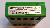 39531 Redding National Match Die Set 260 Remington