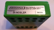 39320 Redding National Match Die Set 24 Nosler