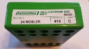 80320 Redding 2-Die Full Length Die Set 24 Nosler