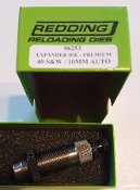 96253 Redding SPECIAL Case Mouth Expanding Die 40 S&W 10mm Auto