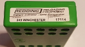 17114 Redding Instant Indicator 243 Winchester (no indicator)