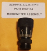 56010A Redding Competition Sizing Die Micrometer Assembly