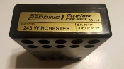 66114 Redding 2-Die PREMIUM Full Length Die Set 243 Winchester