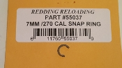 55037 Redding Comp Seating Die Seat Stem Snap Ring 7mm/270 cal